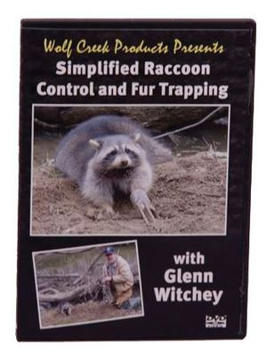 "Wolf Creek Products Presents ""Simplified Raccoon Control and Fur Trapping""  WCD100"